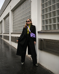 Daniela Guti - Bag, Coat - Black + color
