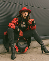 Iwona -  - RED & BLACK