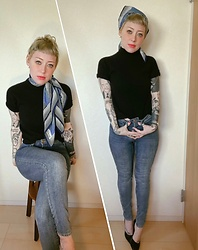 "Marie Theres - H&M Jeans, Vivienne Westwood Watch - ""I'm very brazen. Or très fou. Or something"""