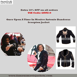 Christina Wampler -  - Once Upon A Time In Mexico Antonio Banderas Scorpion Jacket