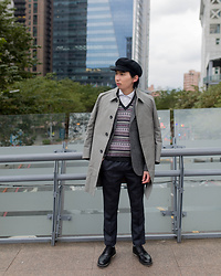 FL JU - Reiss Coat, Topman Blazer, Brooks Brothers Vest, Douchang Lee Trousers -  Britain gentleman