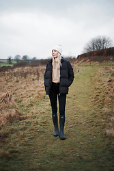 Daniella Robins - Cos Puffer Coat, Wellington Boots - The Great Outdoors