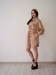 Marina Skater -  - Dress-trench