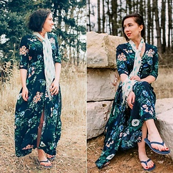 Lindsey Puls - Shein Dress, Modcloth Scarf - Searching for Spring