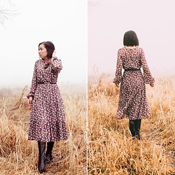 Lindsey Puls - All In Favor Dress - Embracing the fog