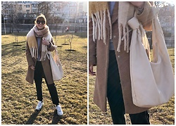 Julia F. - H&M Scarf, Asos Coat, Reserved Bag - Where is spring?!
