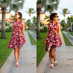 Lindsey Puls - Karina Dresses Dress, Shein Sandals - Windy Day ;)
