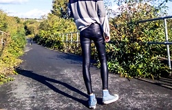 Daniel Kemble -  - Long Legs, Men's Leather Pants
