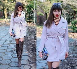 Jointy&Croissanty © -  - Powder pink coat
