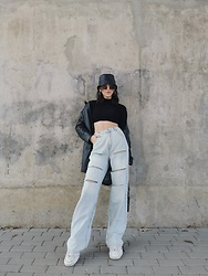 Alexandra Korczak - Bershka Sweater Sh, Bershka Sh Pants - Choose used