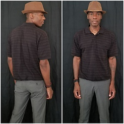Thomas G - Westend Fedora, David Taylor Polo Shirt, H&M Dress Pants, Blog - Fedora hat | Polo shirt | Dress pants
