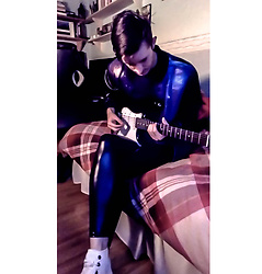 Daniel Kemble -  - Guitar, Jacket, Leggings
