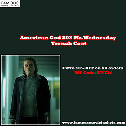 Christina Wampler -  - American God S03 Mr. Wednesday Trench Coat