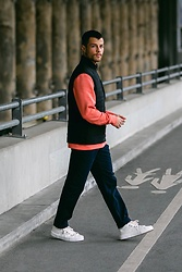 Kevin Elezaj - Paul Smith Sneakers, Paul Smith Pants, Paul Smith Sweater, Paul Smith Vest - 828