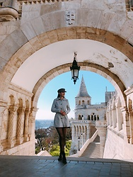 Nora Aradi - Tom Tailor Coat - Fisherman's Bastion